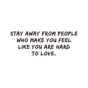 Stay Away #inspirational #minimalism #quotes by andreaanderegg