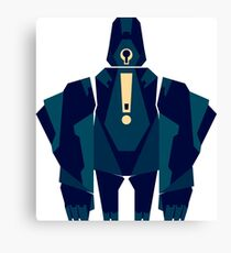 Cyclops: Robot 04 Canvas Print