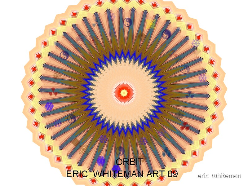 ( ORBIT  )  ERIC  WHITEMAN  ART  by eric  whiteman