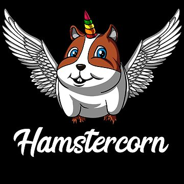 Hamstercorn Hamster Unicorn Magical Pet by underheaven