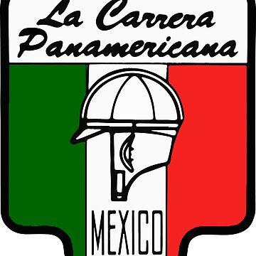 La Carrera Panamericana vintage by tfmotorworks