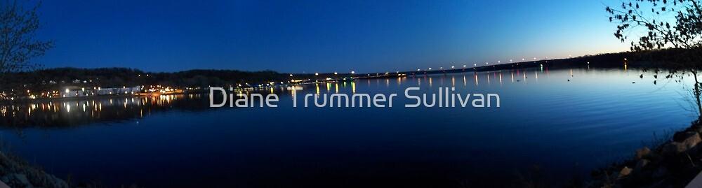 Dusk on the St. Croix River by Diane Trummer Sullivan