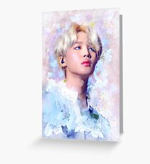 BTS Jimin - Liebe dich selbst Tour Grußkarte