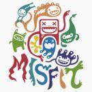 Misfits  by Andi Bird