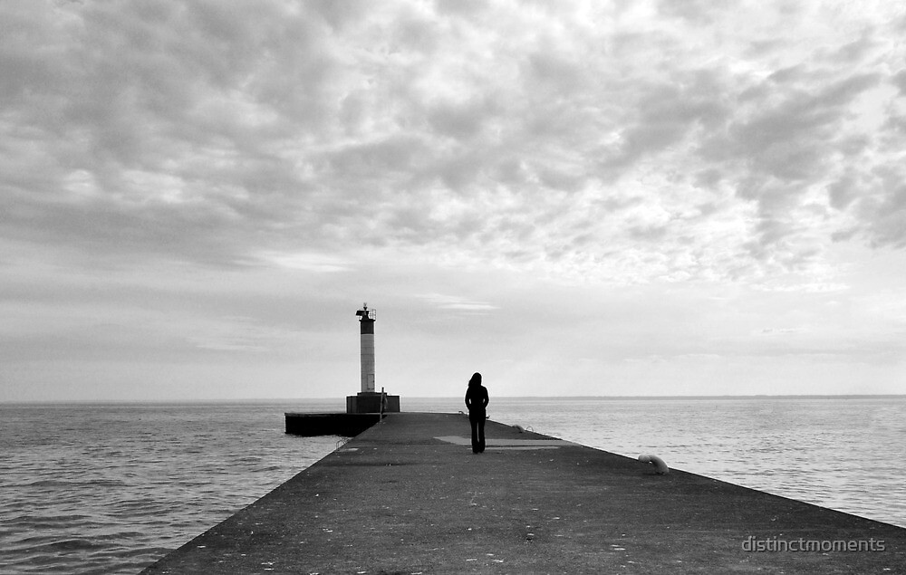 Solitude on The Pier by distinctmoments