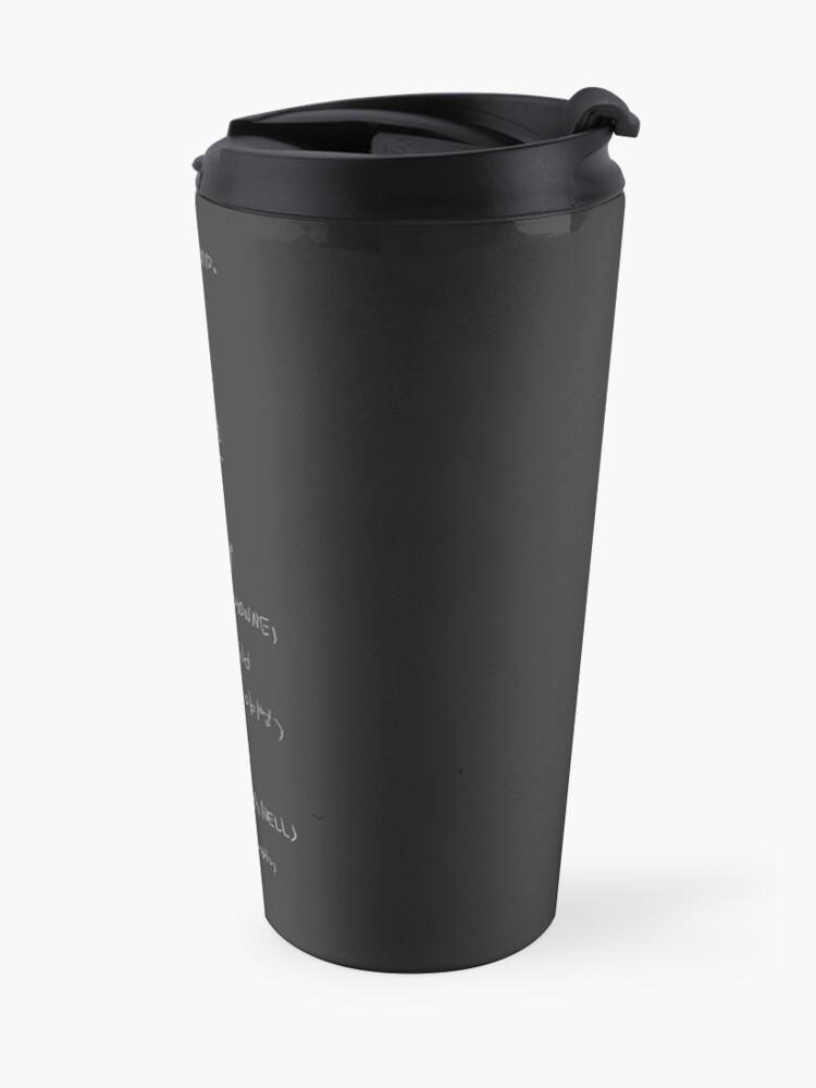 Alternate view of RM Mono Travel Mug