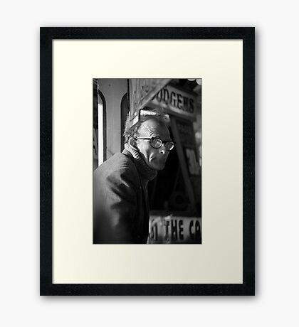 The Dodgems Framed Print