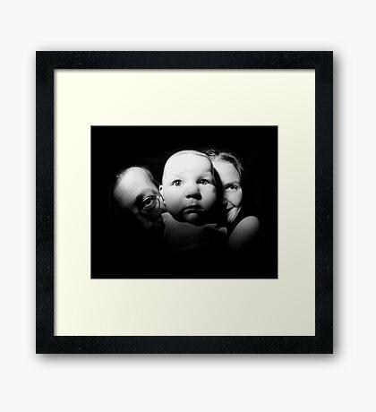 New Family Framed Print
