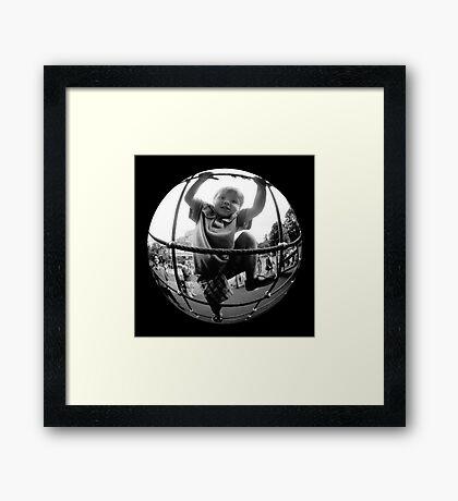 Anabatic Alex Framed Print