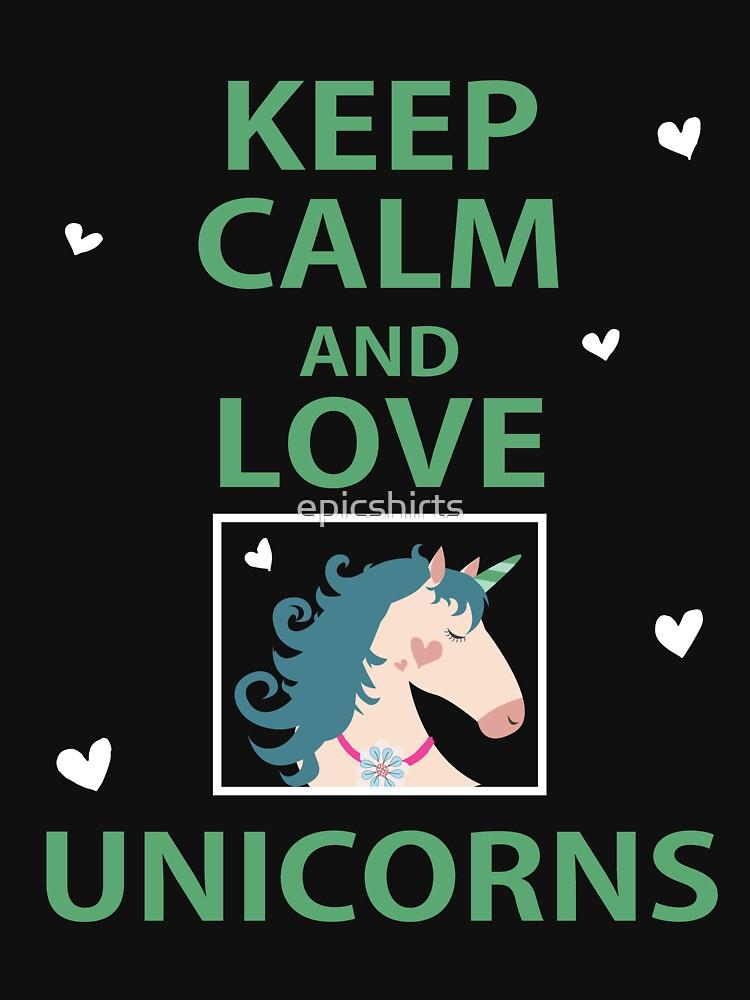 Cool Unicorn Shirt - Cute Funny Unicorn Design by epicshirts