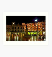 Plaza Mayor BURGOS Art Print