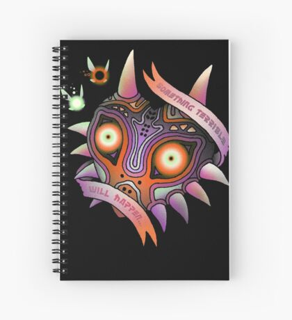 TERRIBLE MASK Spiral Notebook