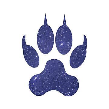 Dog Paw by GwendolynFrost