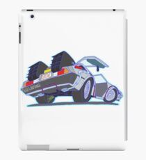 DeLorean Outatime iPad Case/Skin