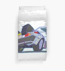 DeLorean Outatime Duvet Cover
