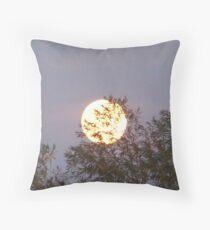 Moon Rise Throw Pillow