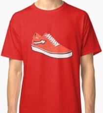 Red vans shoe Classic T-Shirt