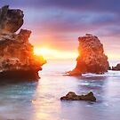 Bridgewater Bay, Mornington Peninsula, Victoria, Australia by Michael Boniwell