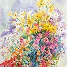 Chrysanthemums by Svetlana Mikhalevich