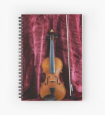 The Fiddle Spiral Notebook