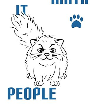 "Creative tee design with text ""I Love Math It Makes People Cry Shirt Cat Funny"" by Customdesign200"