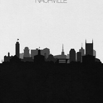 Travel Posters   Destination: Nashville by geekmywall