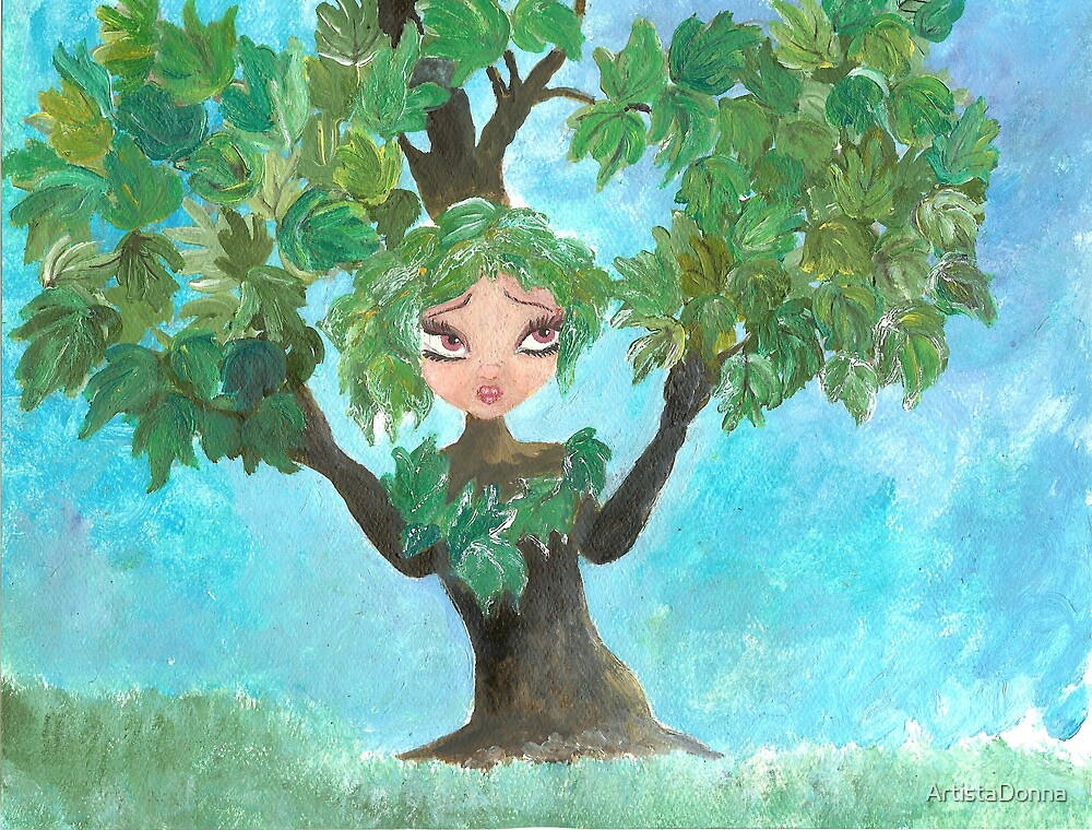 Maple Tree by Nata (ArtistaDonna) Romeo