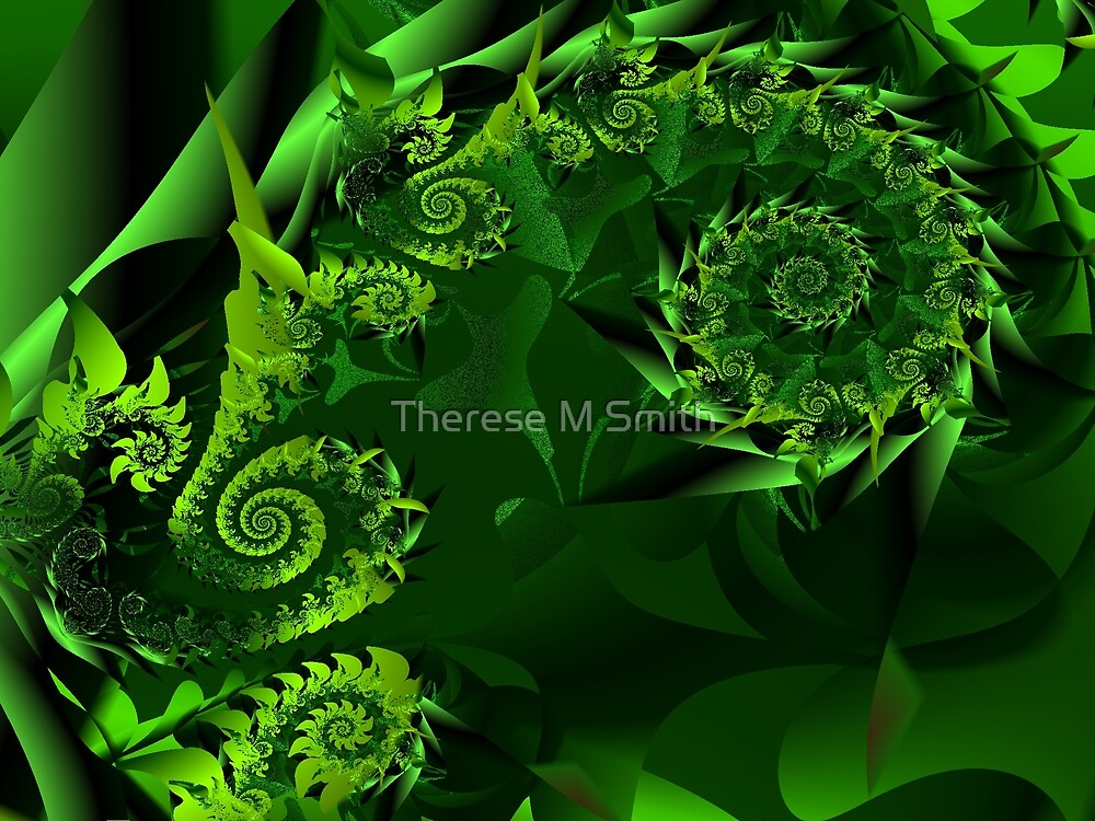 Green Challenge by Miss Therese Marie  Smith