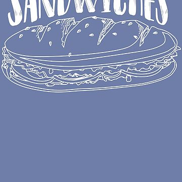 Sandwiches Art | Cool Funny Matching Sandwich Lover Gift by NBRetail