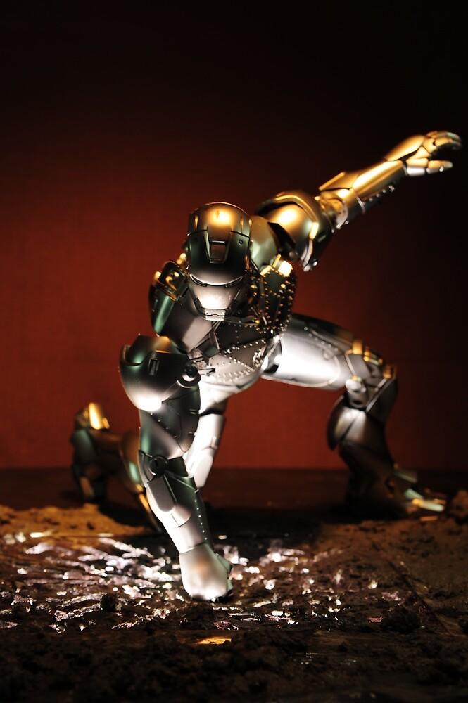 Iron Man Mark 2 by royginald