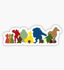 Beauty and the Beast Crew Sticker