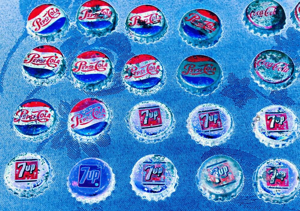 Old bottle caps by natgirl73