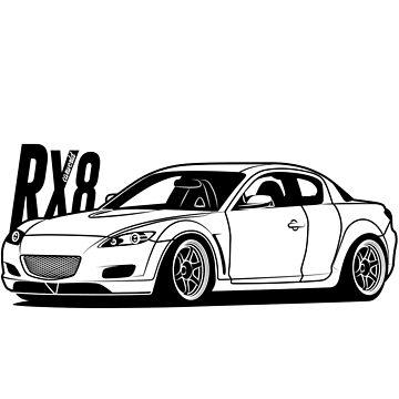Mazda RX8 Best Shirt Design by CarWorld