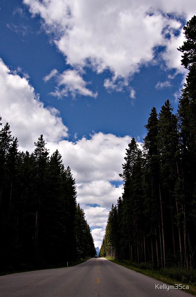 Highway 1a - Banff National Park 2009 by Kellym35ca