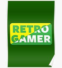 Retro Gamer Poster
