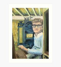 the boy in the basement Art Print