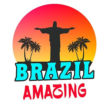 Brazil Amazing / Gift Jesus South America by Rocky2018