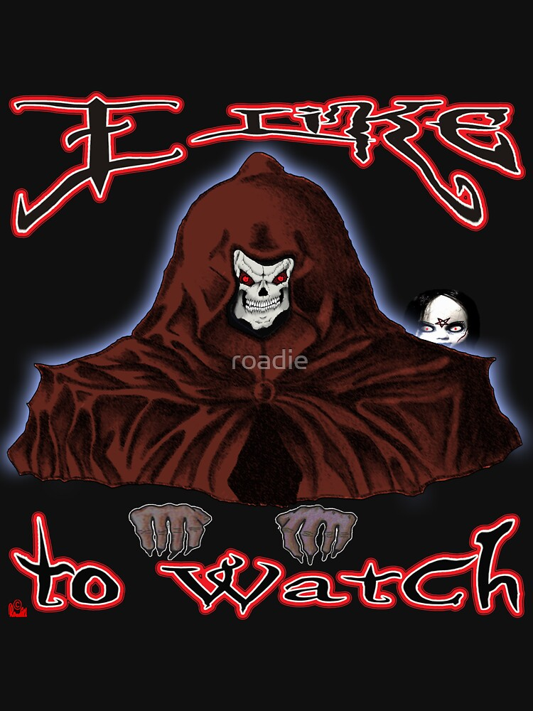 GRIM REAPER AND SIDE KICK/ I LIKE TO WATCH by roadie