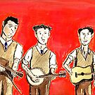 Three-Man String Band by Bill Ackerbauer