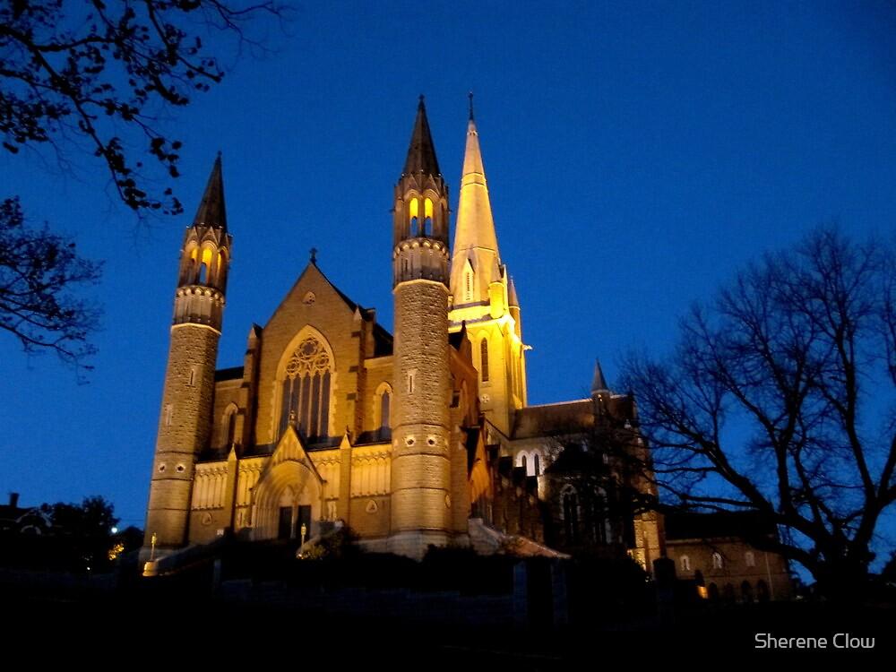 Bendigo Cathedral by Sherene Clow