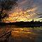 Sunrise or Sunset Reflections