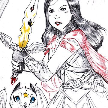Inktober2018 - Sword by Furiarossa