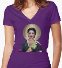 Deputy Undersecretary Chrisjen Avasarala Women's Fitted V-Neck T-Shirt