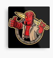 The Right Hand of Approval Metal Print