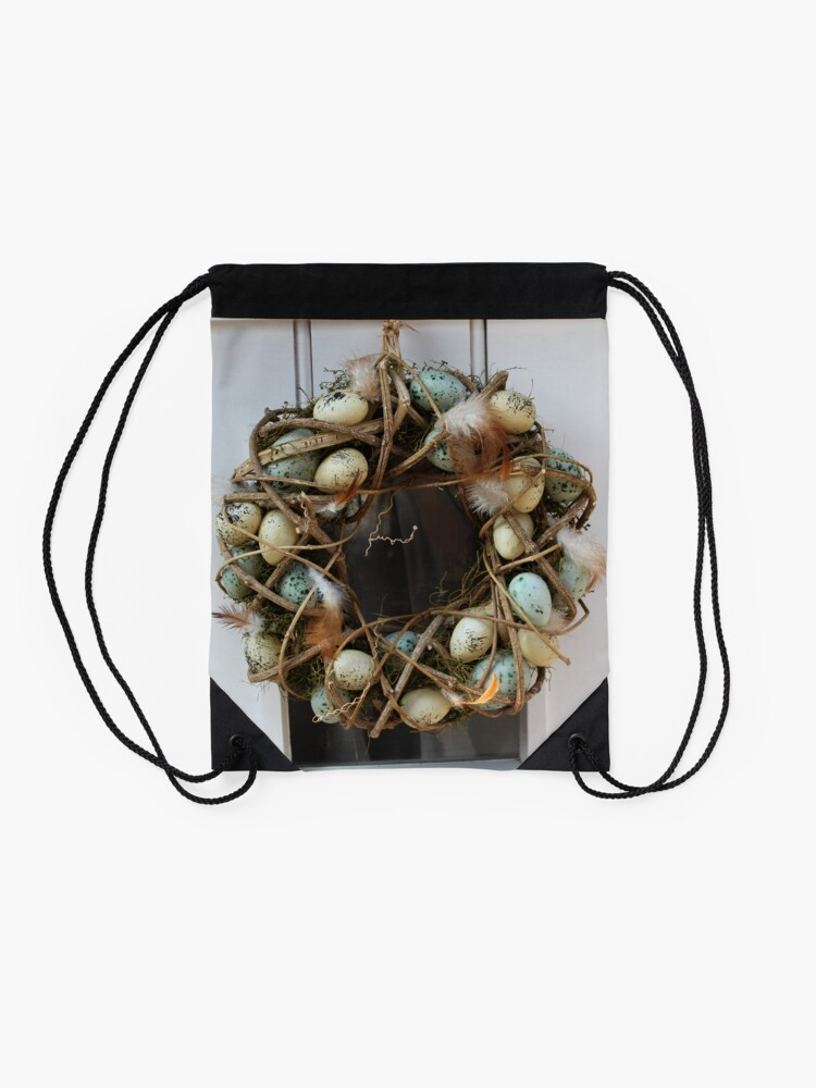 Alternate view of Rural Festivities Drawstring Bag