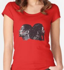 Double Bak Women's Fitted Scoop T-Shirt