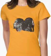 Double Bak Women's Fitted T-Shirt