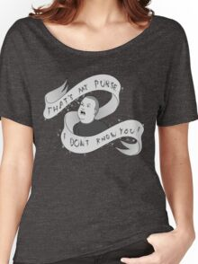 That's my purse! Black and white Women's Relaxed Fit T-Shirt