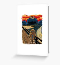 The Cookie Muncher Greeting Card