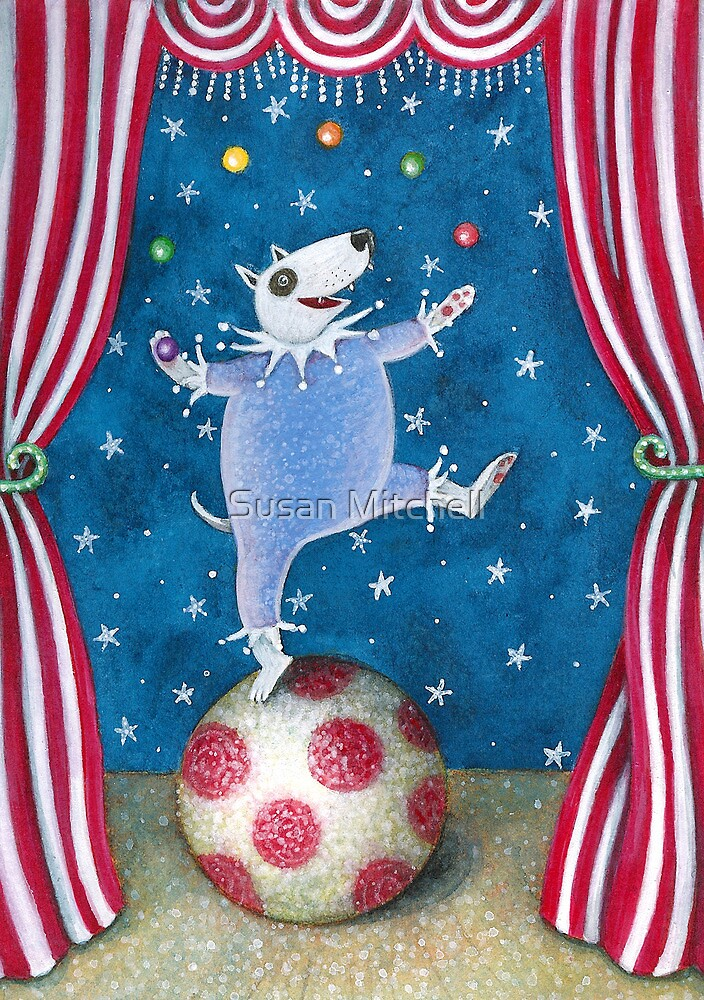 Circus Dog by Susan Mitchell